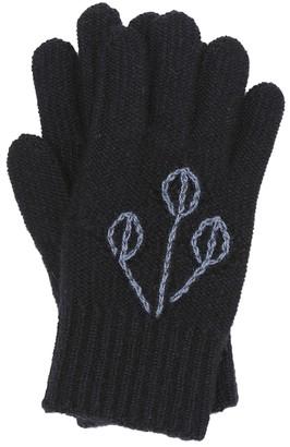 Loro Piana Kids Sweet Garden cashmere gloves