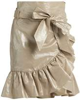 Isabel Marant Liliko ruffled wrap skirt