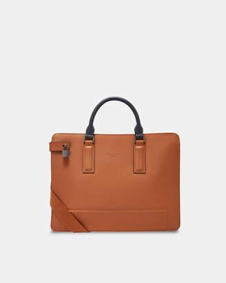 Ted Baker STARK Leather document bag