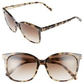 Bobbi Brown Women's The Whitner 54Mm Sunglasses - Black