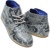Toms TOMS+ Grey Serpentine Women's Tribal Boots