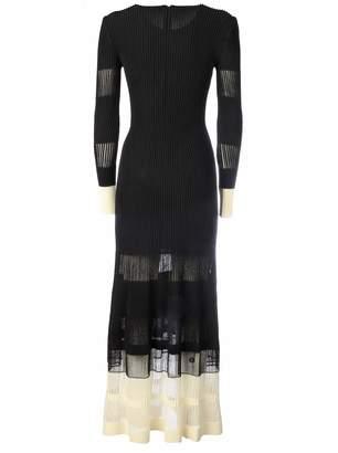 Alexander McQueen Midi Dress With Drapery On The Bottom