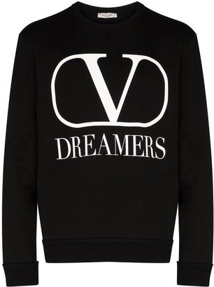 Valentino VLOGO Dreamers print sweatshirt