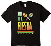 Kids Life is a Fiesta Graphic Mexican Party T-shirt 10