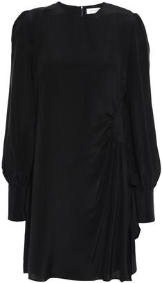 Zimmermann Ruffled Silk Crepe De Chine Mini Dress