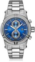 JBW Men's J6263J Strider Diamond Blue/Stainless Steel Watch