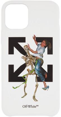 Off-White White Pascal Skeleton iPhone 11 Pro Case