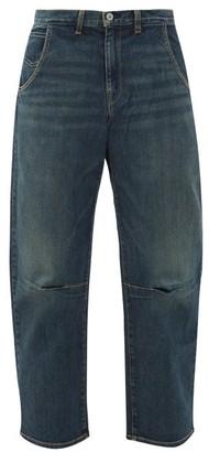 Nili Lotan Emerson Panelled Wide-leg Jeans - Womens - Denim