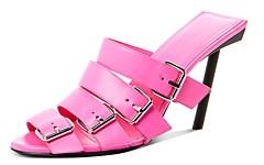 Balenciaga Women's Buckle High-Heel Sandals