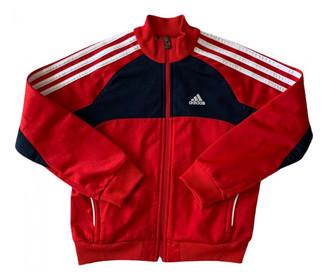 adidas Red Cotton Knitwear