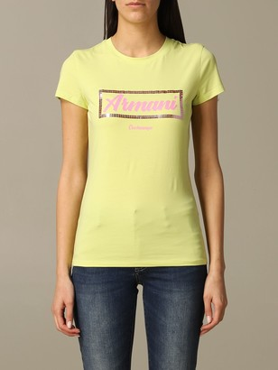 Armani Exchange Short-sleeved T-shirt With Logo