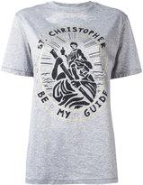 Christopher Kane Saint Christopher unisex T-shirt - women - Cotton - L