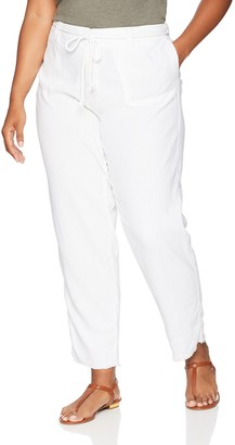 Dollhouse Women's Size White Plus Linen 14