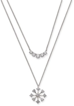 "Eliot Danori Crystal Convertible Necklace, 17"" + 1"" extender, Created for Macy's"