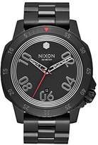 Nixon Men's Quartz Watch Analogue Display and Stainless Steel Strap A506SW2444-00