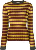 Marni ribbed knitted top