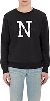 Saturdays NYC Men's Bowery NY Overlay Cotton Sweatshirt