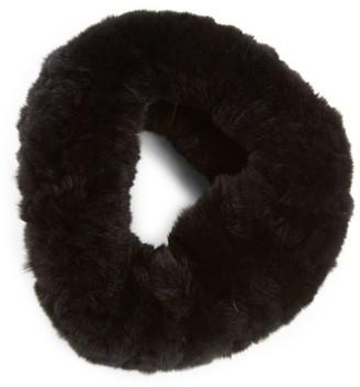 Surell Rabbit Fur Convertible Headband