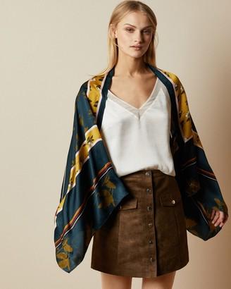 Ted Baker SAANNA Savanna silk cape scarf
