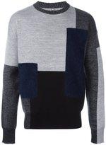 Oamc patchwork sweater