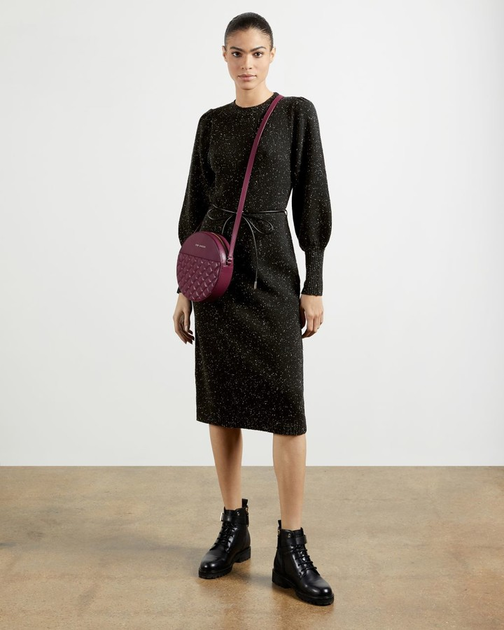 Ted Baker Tie Waist Knit Dress