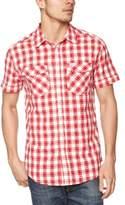 Wrangler Short Sleeve Gingham Men's Shirt