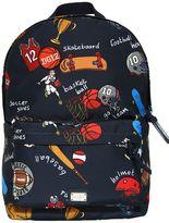 Dolce & Gabbana Sports Printed Nylon Backpack