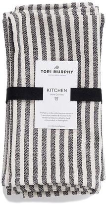 Tori Murphy Harbour Stripe Napkins (Set Of 4)