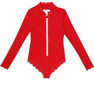Marysia Bumby North Sea rashguard swimsuit