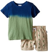 Splendid Littles Dip-Dye Tee with Printed Chili Pepper Shorts Set Boy's Active Sets