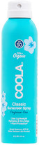 Coola Eco-Lux 8oz Body SPF 50 Unscented Sunscreen Spray.