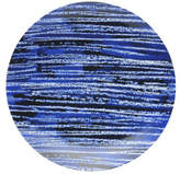 David Jones Shibori Blue Line Side Plate 23cm