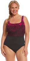 TYR Women's Juniper Aqua Controlfit Plus Size One Piece Swimsuit 8150953