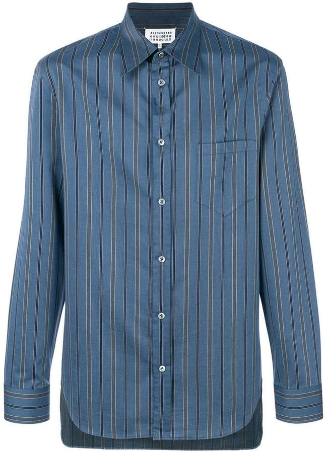 Maison Margiela multi-stripe shirt