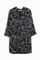 Paul & Joe Star Print Silk Tunic