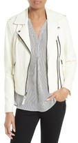 Joie Women's Hayworth Leather Moto Jacket