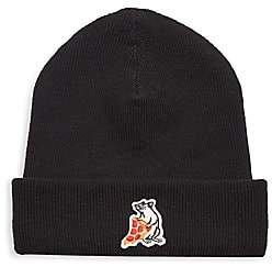 Rag & Bone Men's Pizza Rat Patch Beanie
