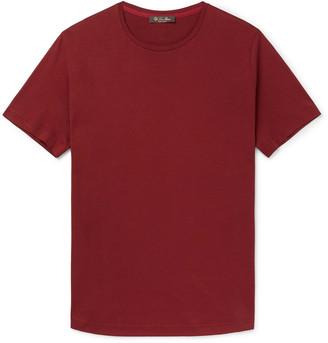Loro Piana Slim-Fit Silk And Cotton-Blend Jersey T-Shirt