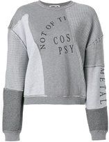 McQ patchwork sweatshirt