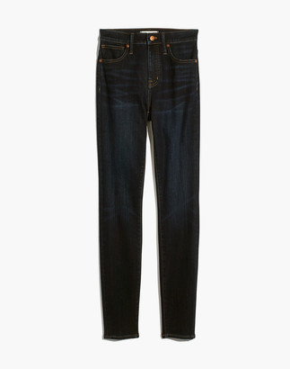 Madewell Petite Curvy High-Rise Skinny Jeans in Larkspur Wash: TENCEL Denim Edition