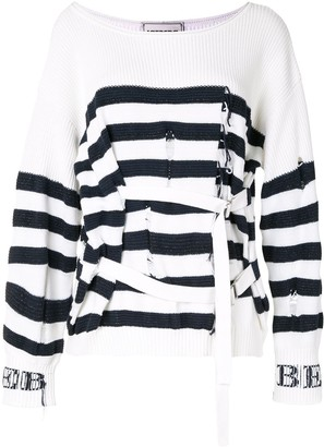 Iceberg Ripped Belted Jumper