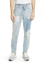 Closed X-Pert Patchwork Regular Fit Jeans
