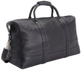 Royce Leather Executive Weekender Duffel Bag
