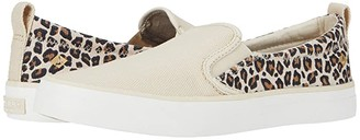 Sperry Crest Twin Gore Animal Print (Tan/Black) Women's Shoes