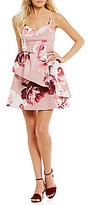 Keepsake Enchanted Sweetheart Floral Fit and Flare Dress