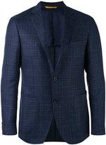 Canali Kei blazer jacket - men - Silk/Linen/Flax/Cupro/Wool - 48