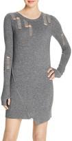 Pam & Gela Shredded Sweater Dress