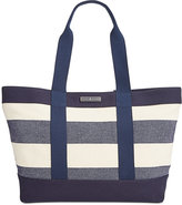 Tommy Hilfiger Daphne Woven Rugby Tote