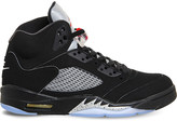 Nike Jordan 5 retro leather trainers