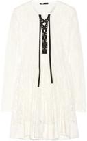 Maje Robby chenille lace mini dress